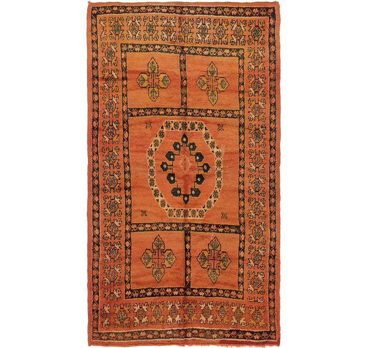 HandKnotted 6' x 10' 7 Moroccan Rug