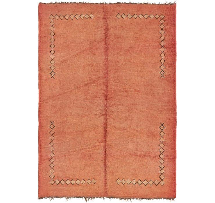 6' 4 x 9' Moroccan Rug
