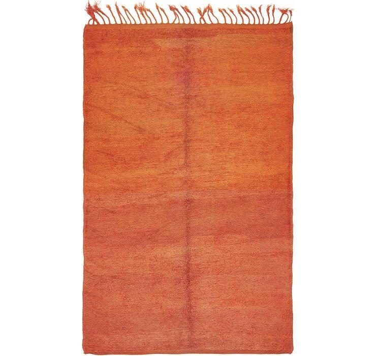 6' 3 x 9' 7 Moroccan Rug