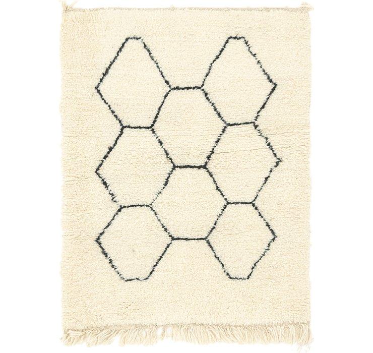 3' 3 x 4' 3 Moroccan Rug
