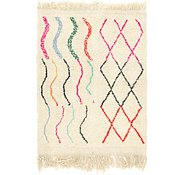 Link to 3' 5 x 4' 6 Moroccan Rug