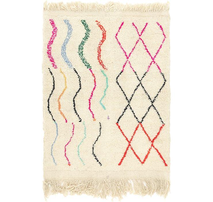 3' 5 x 4' 6 Moroccan Rug