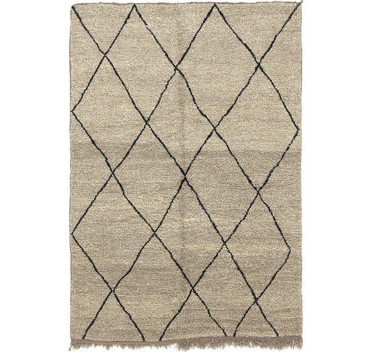 6' 8 x 9' 2 Moroccan Rug
