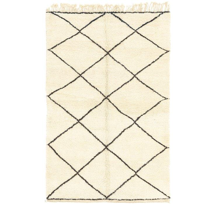 5' 5 x 8' 4 Moroccan Rug