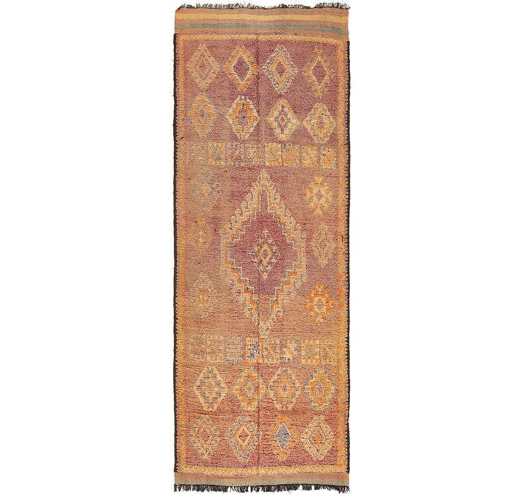 HandKnotted 5' 10 x 15' 5 Moroccan Runner Rug
