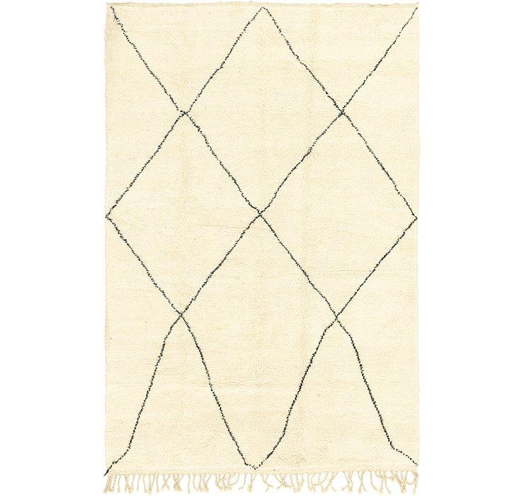 6' 8 x 10' Moroccan Rug