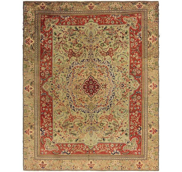280cm x 358cm Tabatabaei Persian Rug