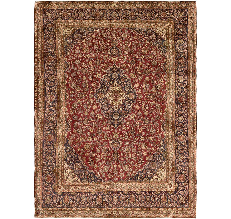 8' 9 x 11' 10 Mashad Persian Rug