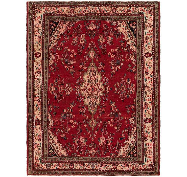 9' x 11' 6 Hamedan Persian Rug