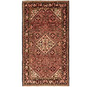 Link to 5' 5 x 10' Hossainabad Persian Runner Rug