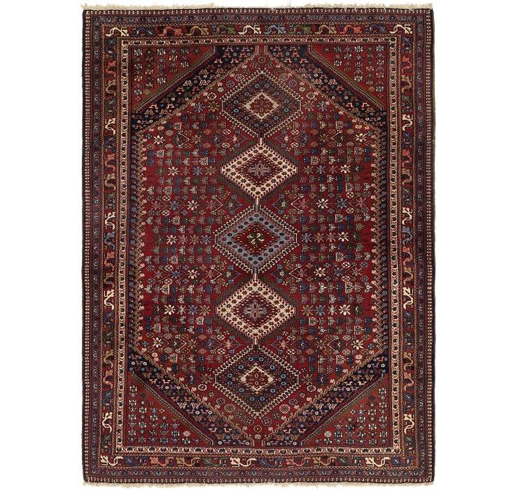 5' 8 x 7' 10 Yalameh Persian Rug