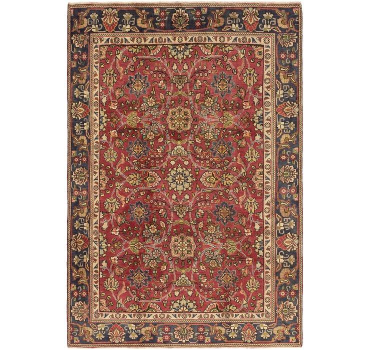 5' 10 x 8' 7 Tabriz Persian Rug