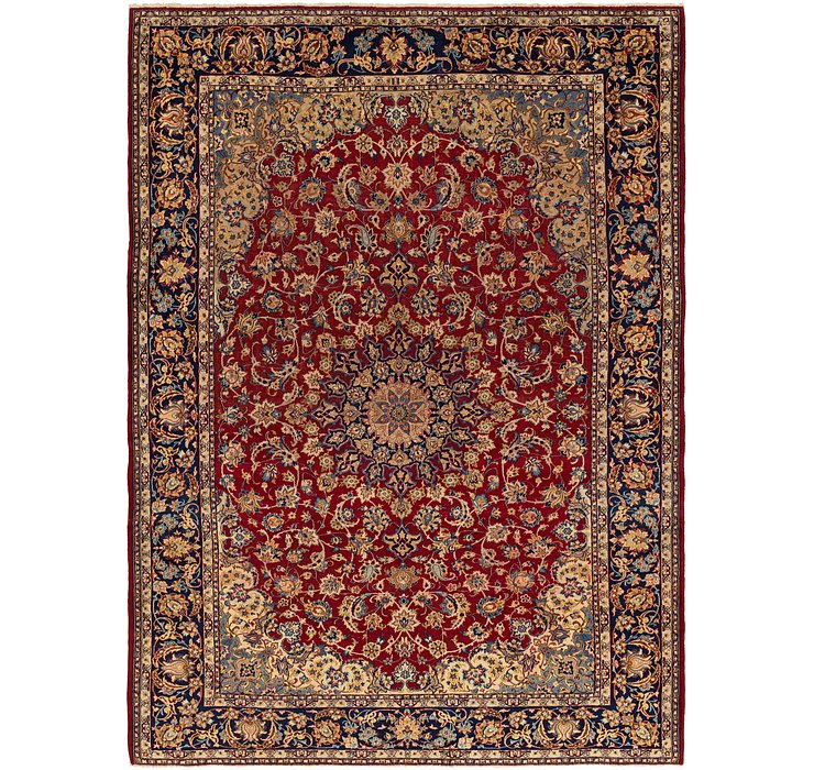 10' 5 x 14' 4 Isfahan Persian Rug