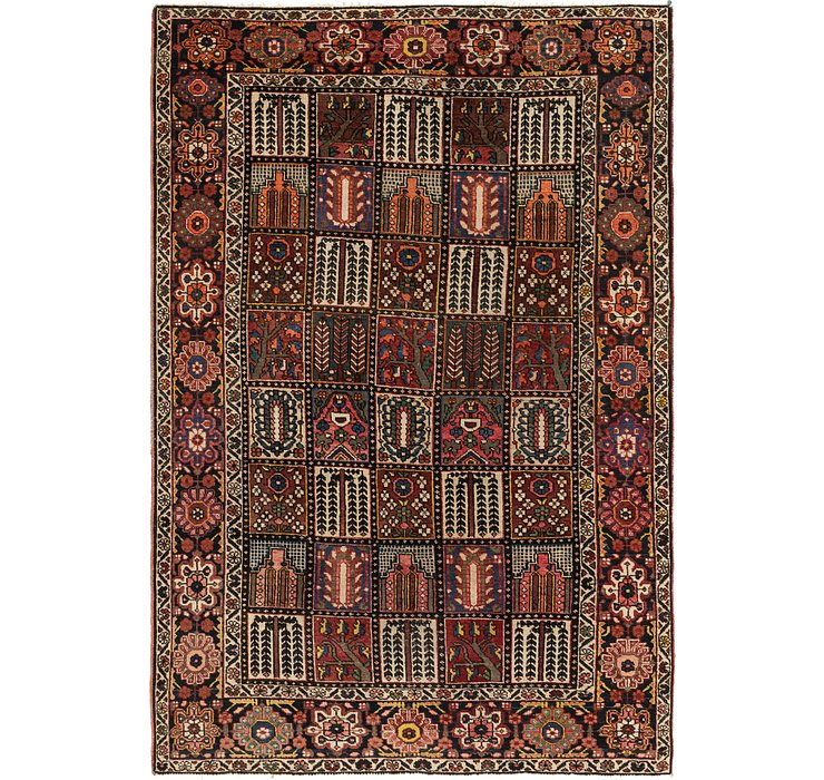6' 7 x 10' Bakhtiar Persian Rug