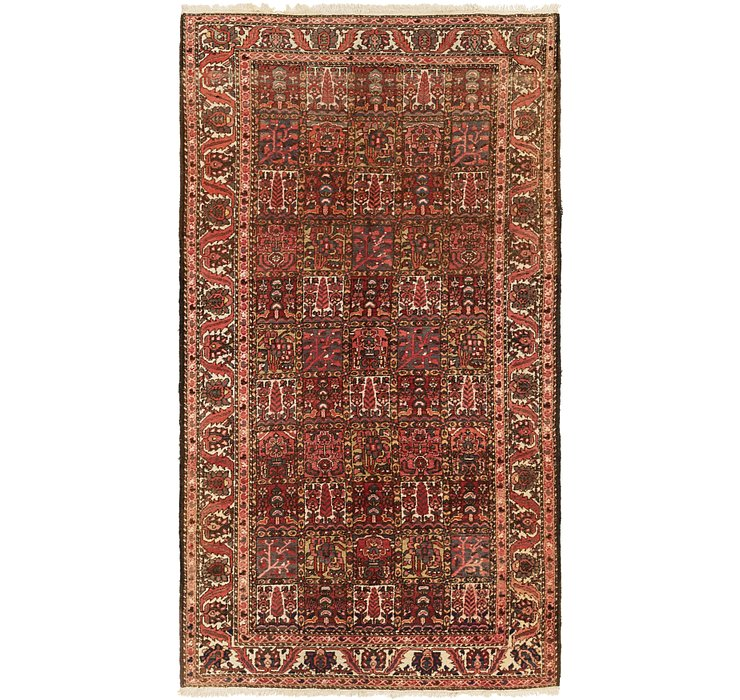 5' 5 x 10' Bakhtiar Persian Runner...