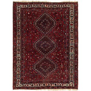 8' 6 x 11' 4 Ghashghaei Persian Rug