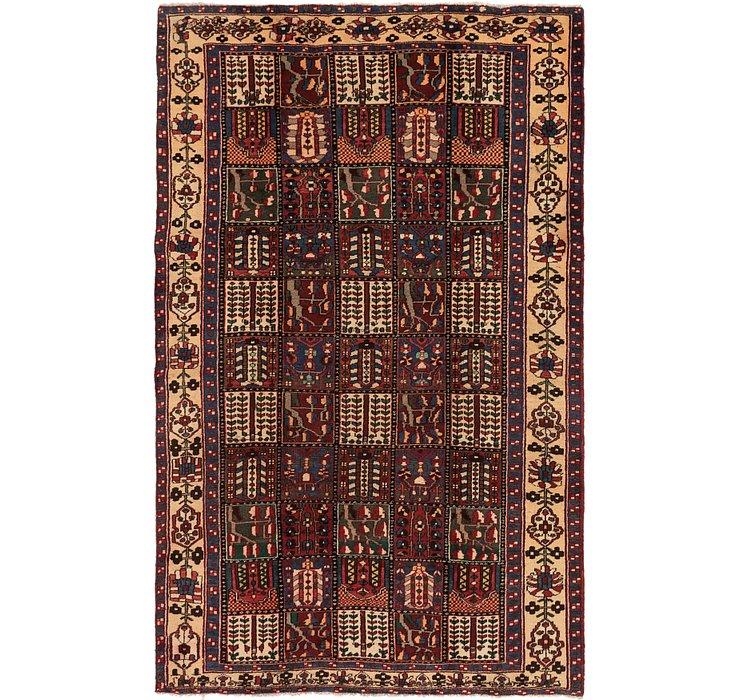 6' 2 x 10' 5 Bakhtiar Persian Rug