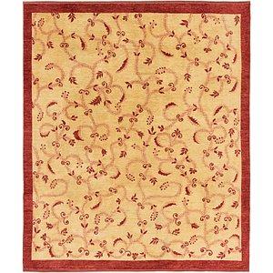 Unique Loom 8' 4 x 9' 9 Peshawar Ziegler Rug