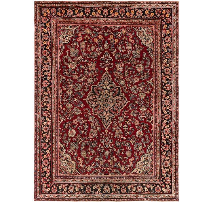 9' x 12' 7 Meshkabad Persian Rug