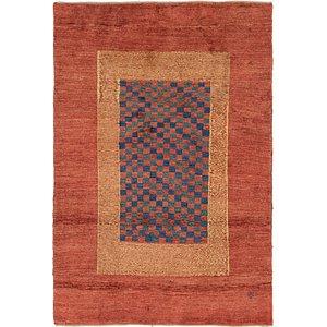 6' 5 x 9' 7 Shiraz-Gabbeh Persian Rug