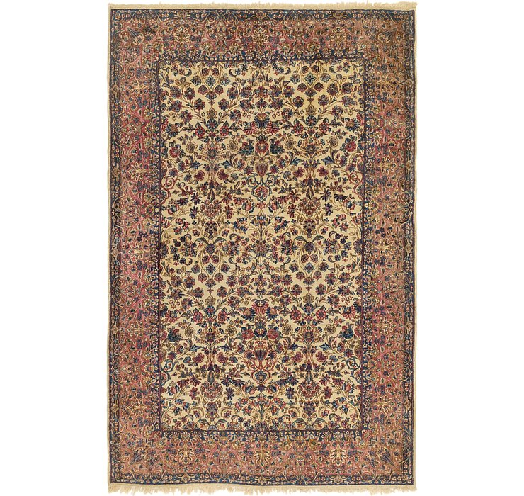 203cm x 312cm Kerman Persian Rug