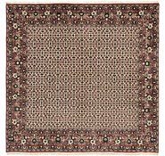 Link to 6' 6 x 6' 7 Bidjar Persian Square Rug