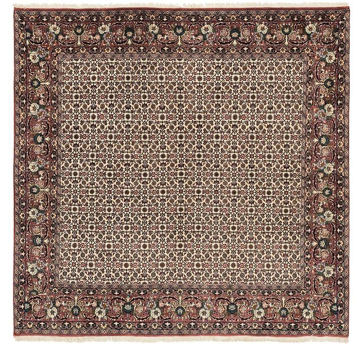 198cm x 200cm Bidjar Persian Square Rug