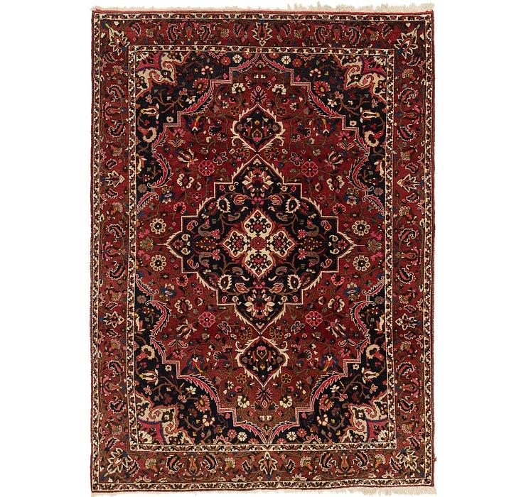 7' 2 x 10' Bakhtiari Persian Rug
