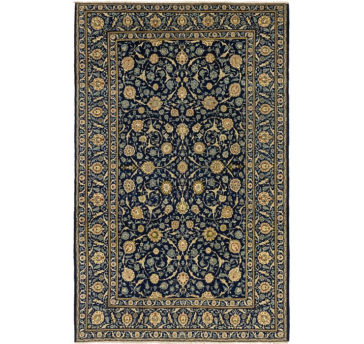 8' 2 x 12' 9 Kashan Persian Rug