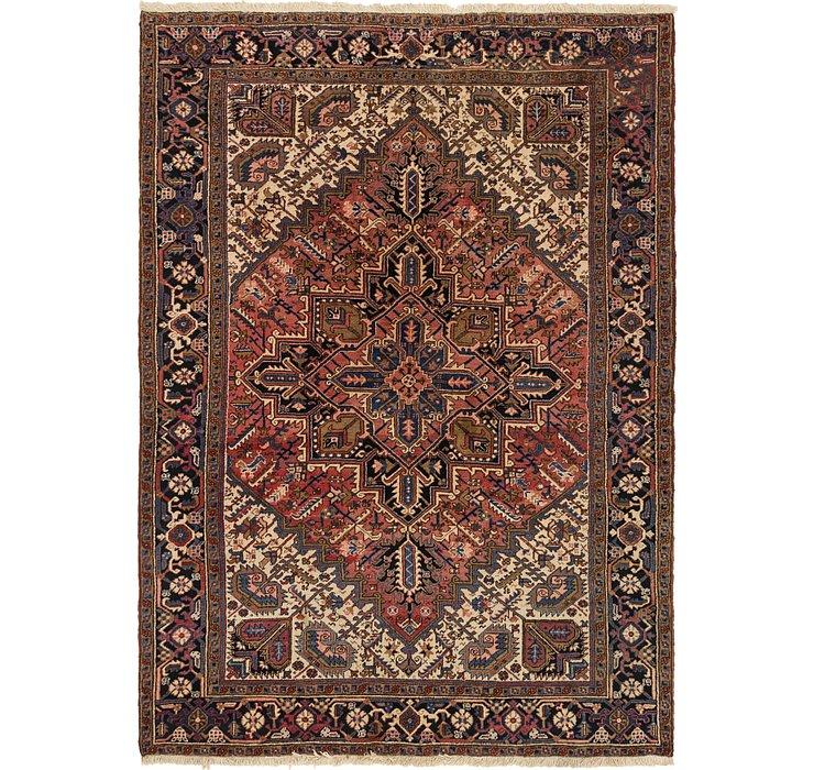 7' 8 x 10' 5 Heriz Persian Rug