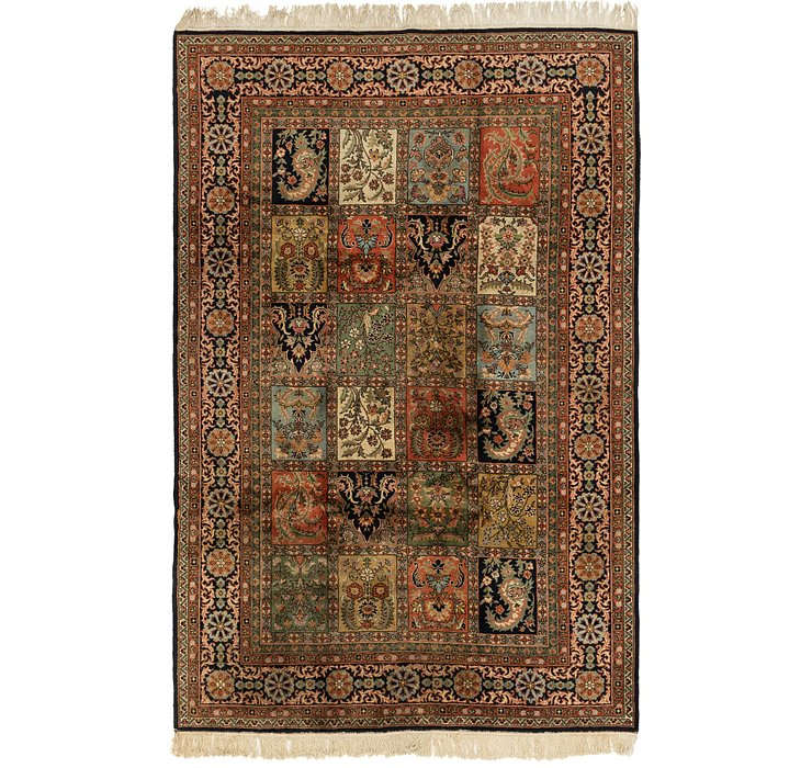 HandKnotted 7' 2 x 11' Kashmir Rug