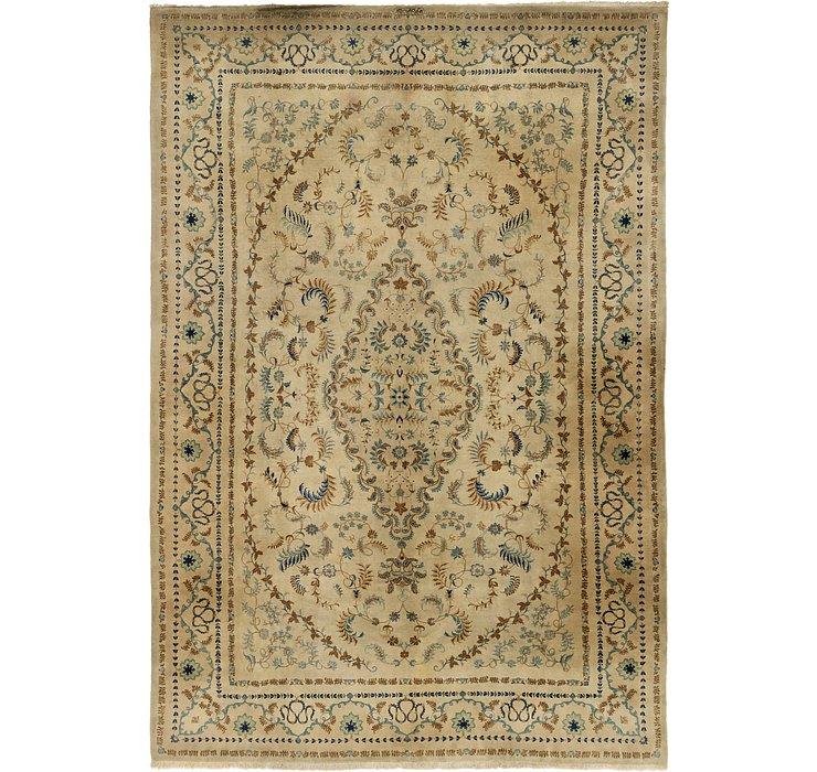 305cm x 435cm Kashan Persian Rug