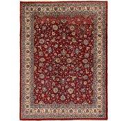 Link to 9' 10 x 13' 3 Meshkabad Persian Rug