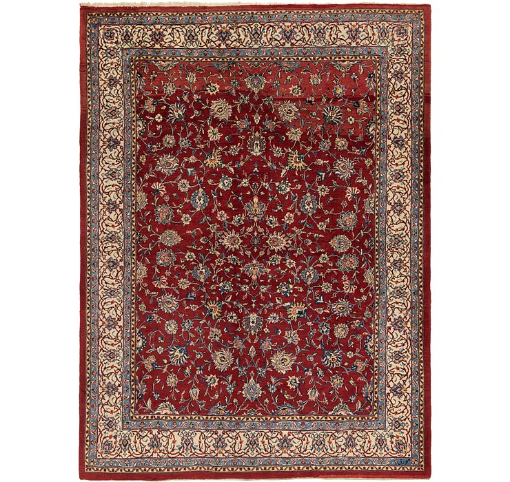 9' 10 x 13' 3 Meshkabad Persian Rug