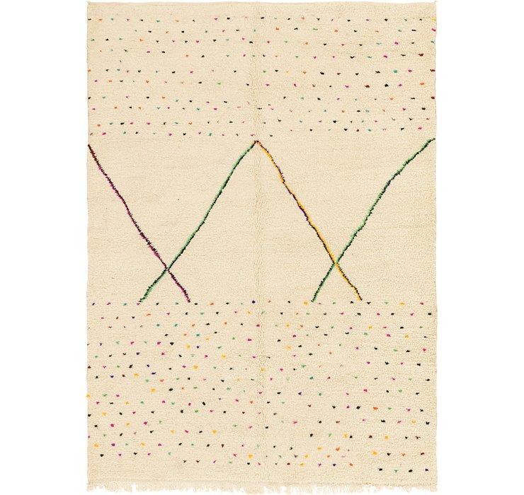 6' 8 x 9' Moroccan Rug