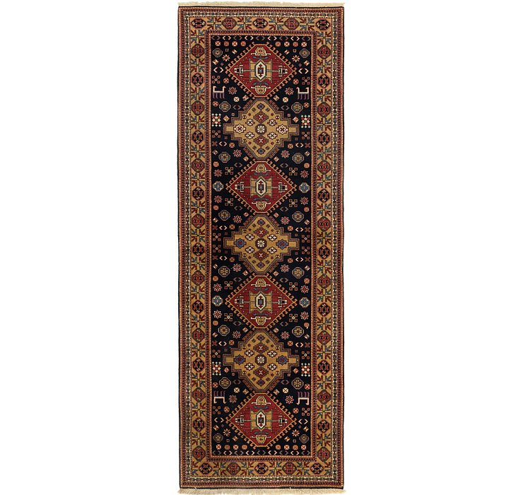 4' x 12' Ardabil Persian Runner ...