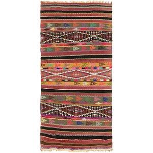Unique Loom 2' 7 x 5' 3 Moroccan Rug