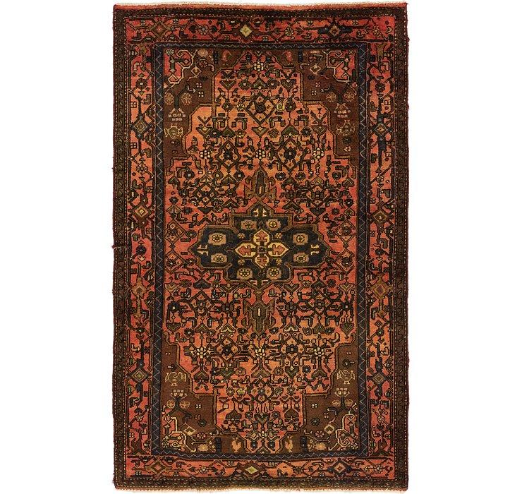 4' x 6' 9 Hossainabad Persian Rug