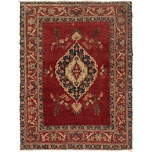 4' 7 x 6' Tabriz Persian Rug