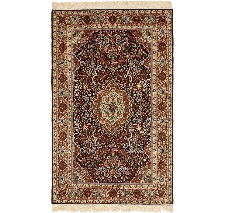4' x 6' 7 Kashmir Oriental Rug