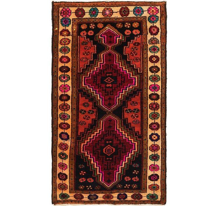 3' 8 x 6' 7 Shiraz-Lori Persian Rug