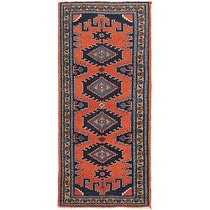 3' 6 x 7' 10 Viss Persian Runner Rug