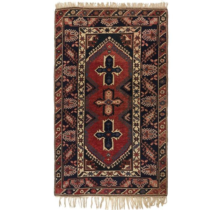 4' 2 x 6' 9 Anatolian Rug