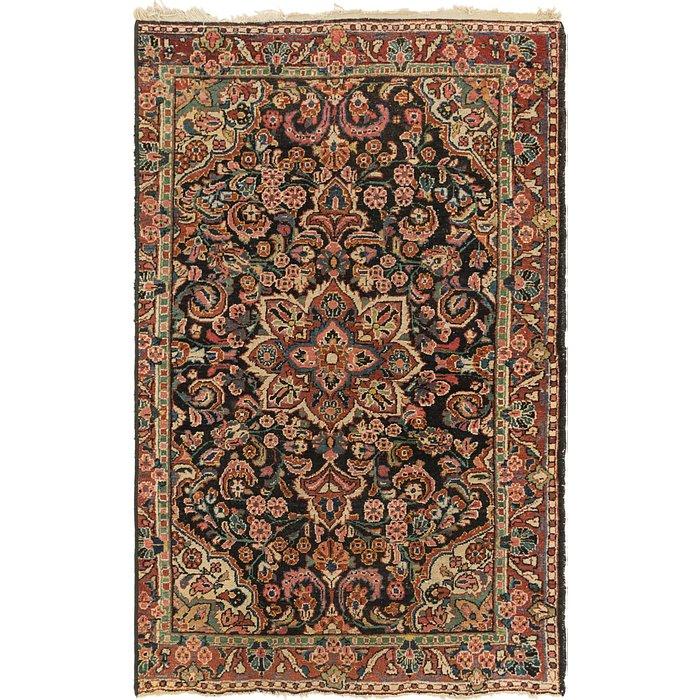 4' x 6' 8 Meshkabad Persian Rug