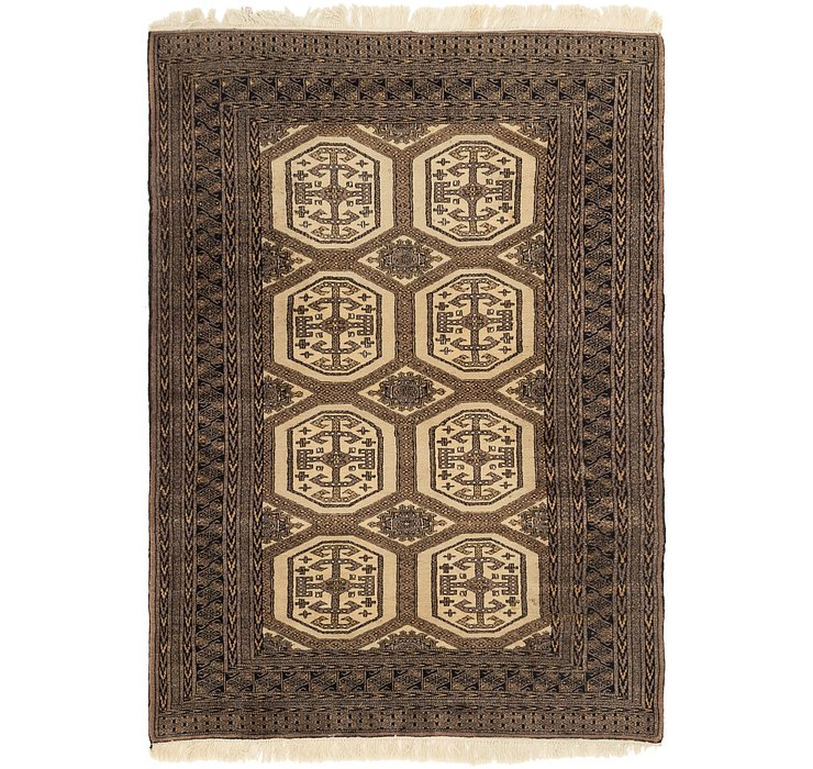 4' 4 x 6' 2 Bokhara Oriental Rug