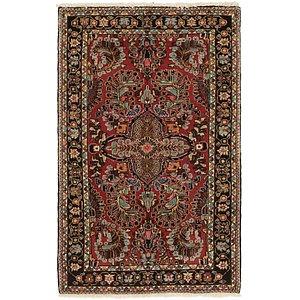 HandKnotted 3' 4 x 5' 6 Nanaj Persian Rug