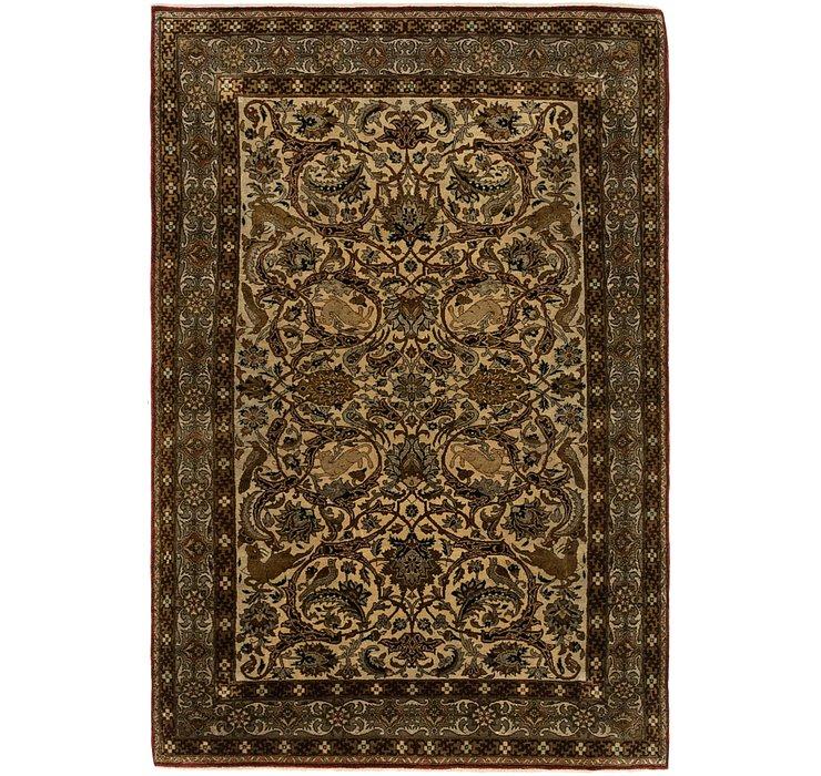 107cm x 157cm Kashmir Oriental Rug