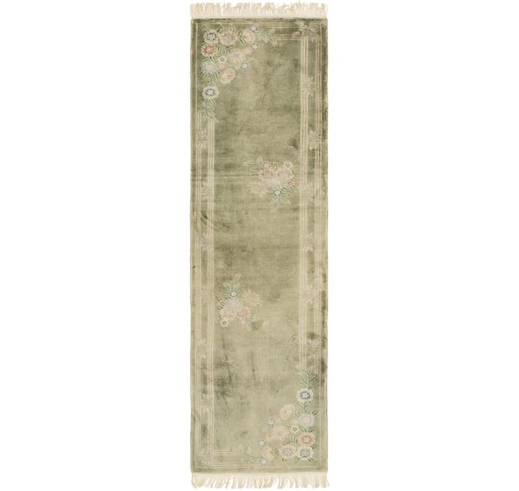 70cm x 270cm Antique Finish Runner Rug