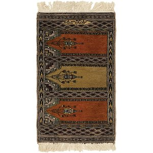 1' 7 x 2' 8 Lahour Oriental Rug