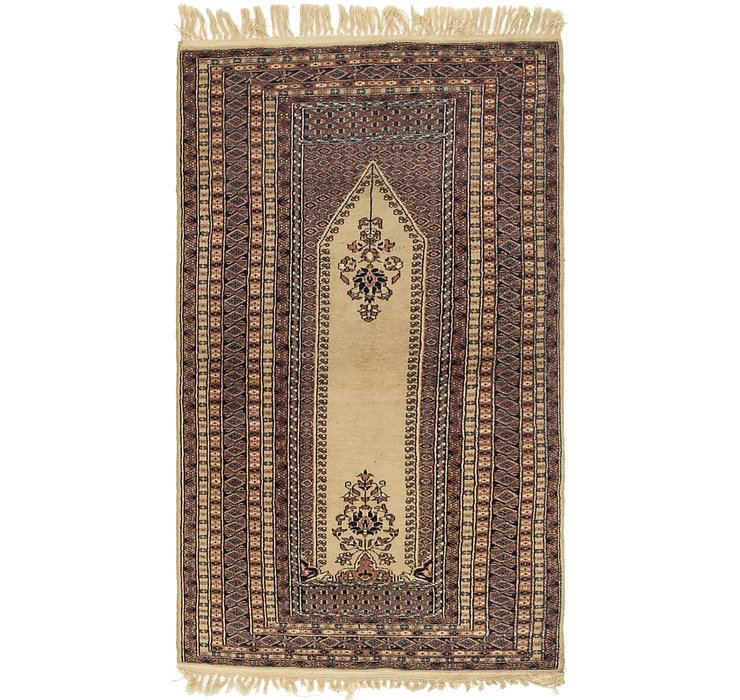 3' x 5' 2 Lahour Oriental Rug